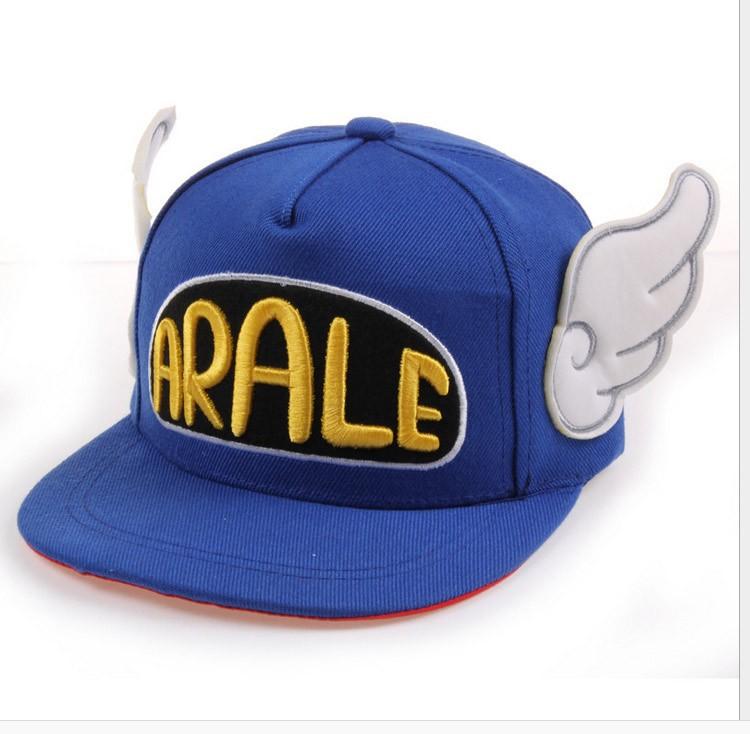 économies fantastiques Los Angeles gamme exclusive Casquette baseball Arale inspiration enfant ailes d'anges bleu