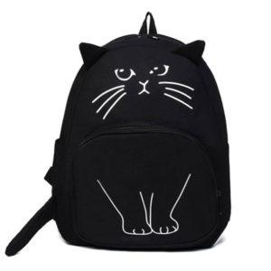 Backpack-kawaii-cat-noir