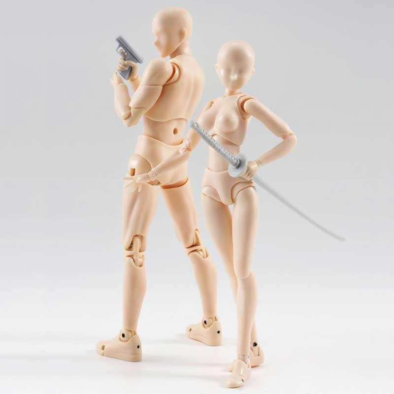 Figurine Body Chan & Body Kun