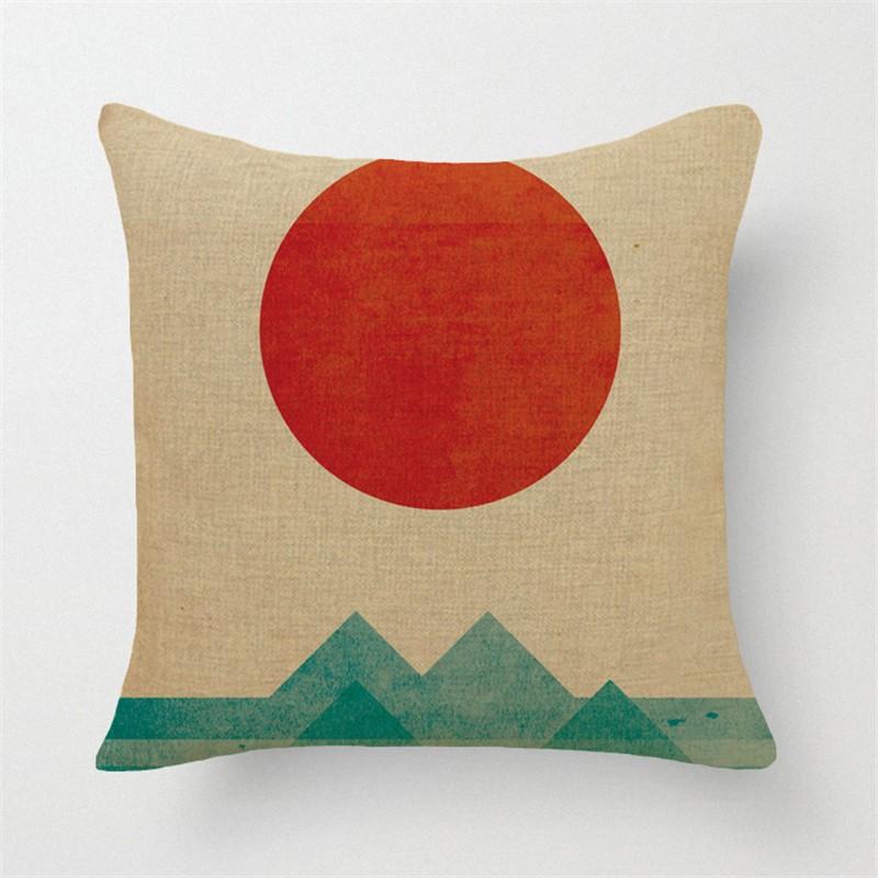 Taie d'oreiller art japonais