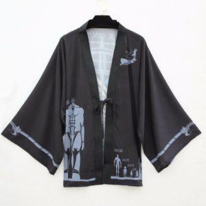 Kimono inspiration bataillon d'exploration