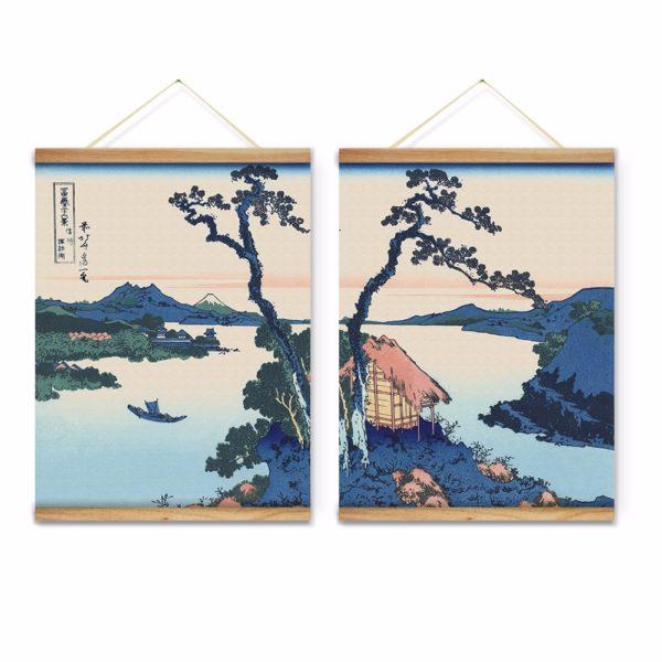 Diptyque lac suwa dans la province de shinano la boutique du japon - La boutique du japon ...