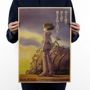 Nausicaa affiche originale poster papier craft