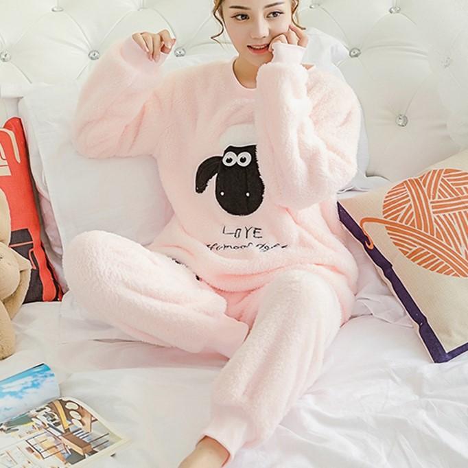 Pyjama kawaii Mouton noir