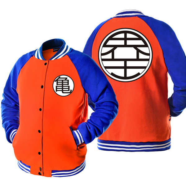 Veste-baseball-dragon-ball-orange-kamo