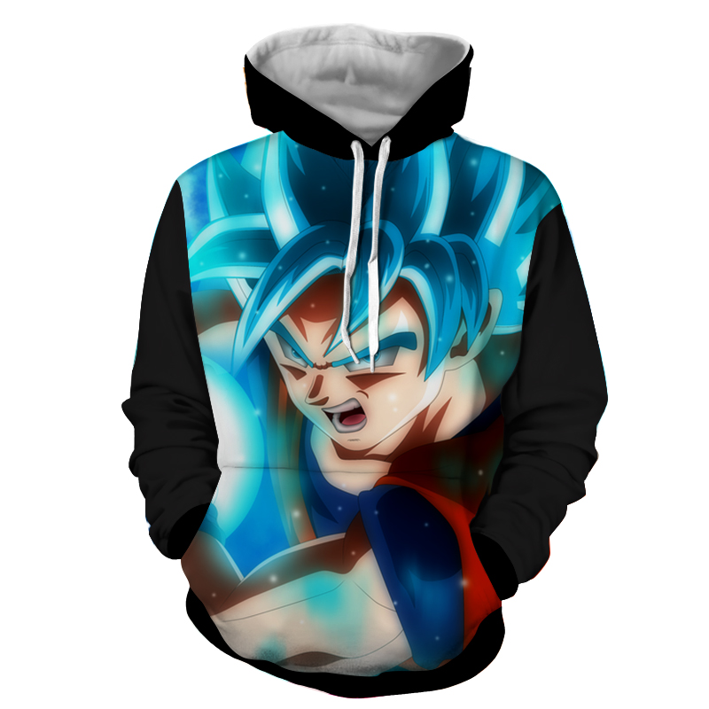 Hoodie Dragon Ball Dark San Goku Fin