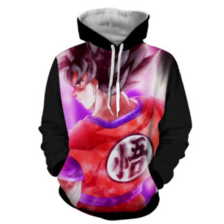 Hoodie Dragon Ball Dark San Goku préparation