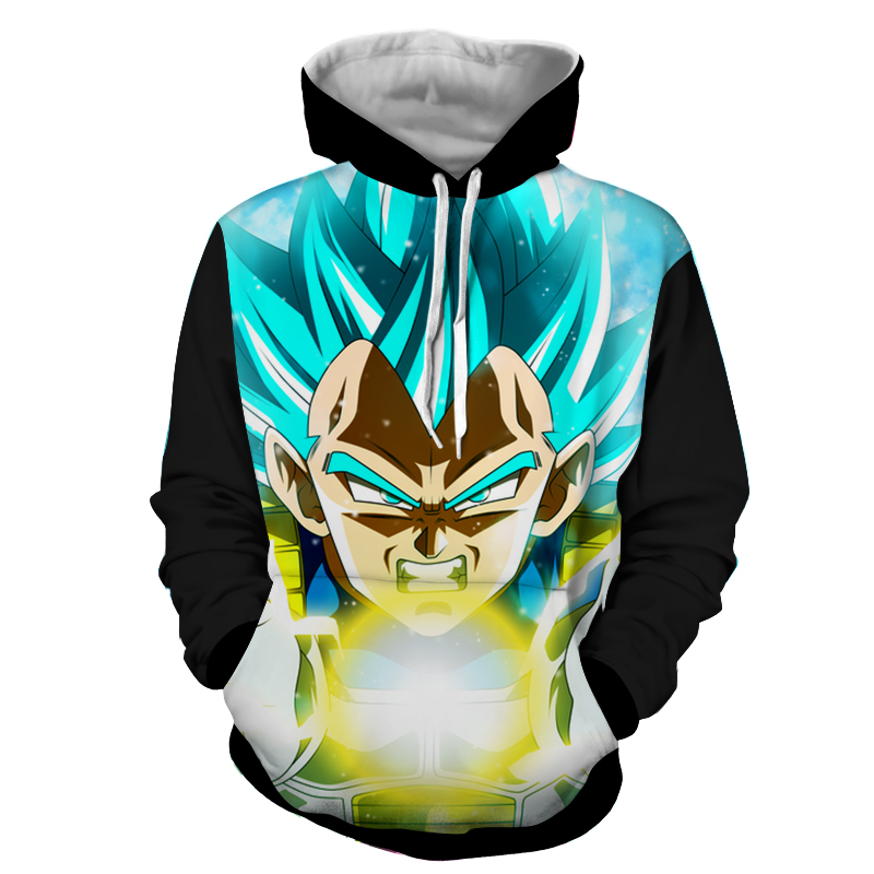 Hoodie Dragon Ball Dark Vegeta final
