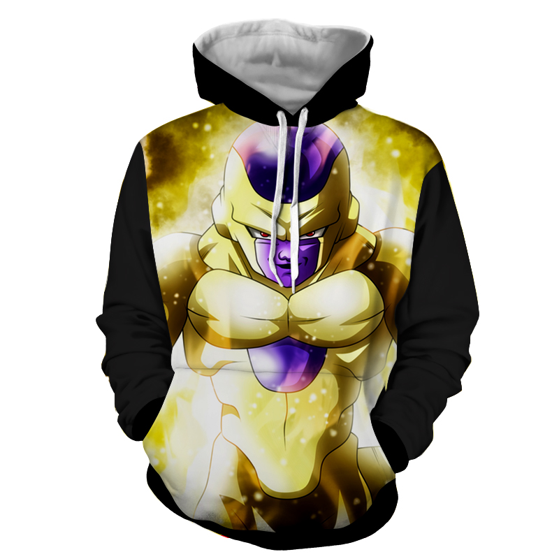 Hoodie Dragon Ball Dark Golden Freezer
