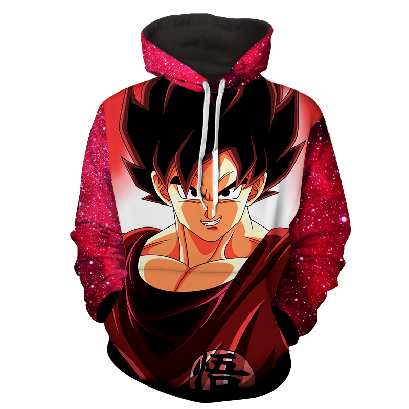 Hoodie Dragon Ball cosmos San Goku classique