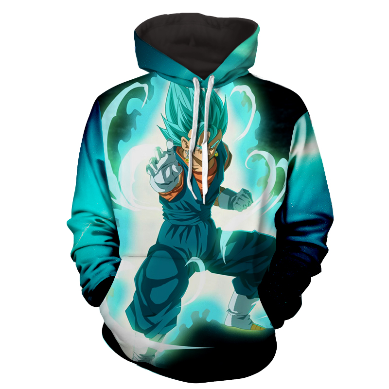 Hoodie Dragon Ball cosmos San Goku God Garde
