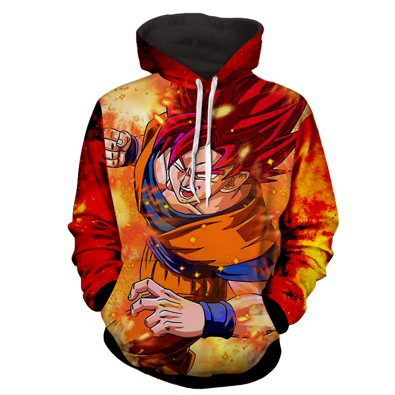 Hoodie Dragon Ball cosmos San Goku God Friction