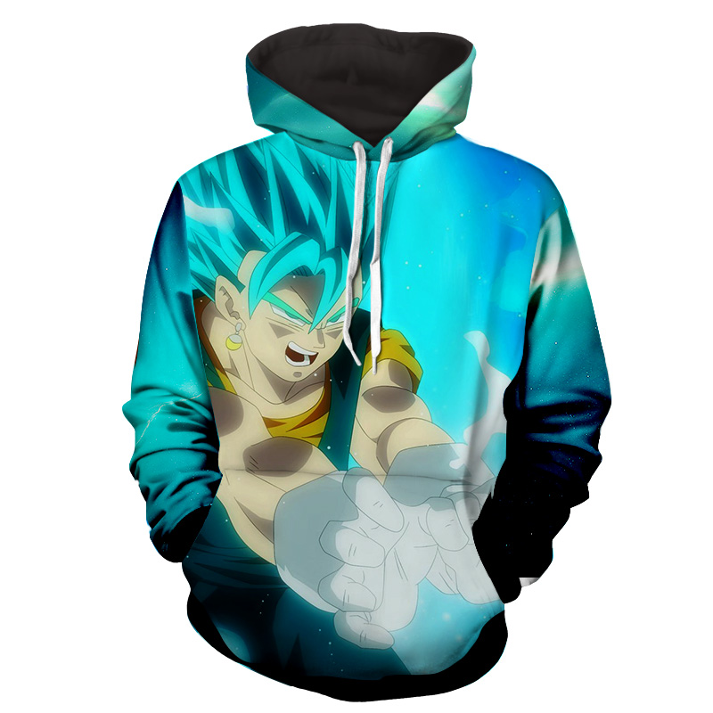 Hoodie Dragon Ball cosmos San Goku God réveil