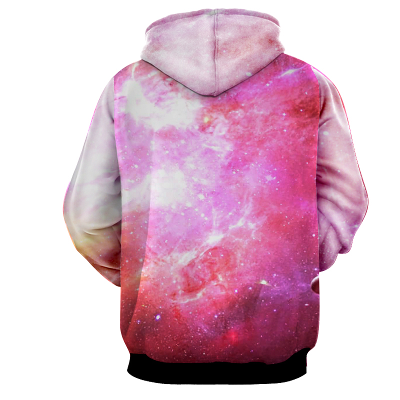 Hoodie Dragon Ball cosmos C18 posture rose dos