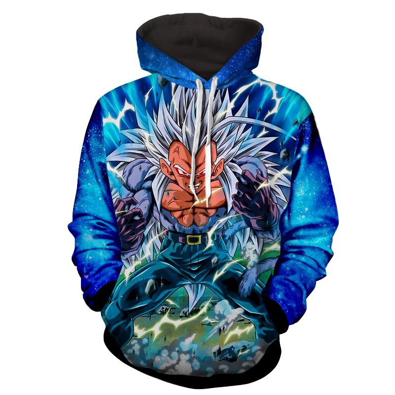 Hoodie Dragon Ball cosmos Vegeta super saiyan 6
