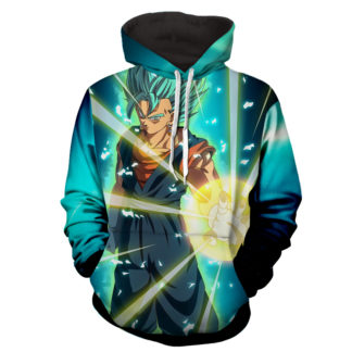 Hoodie Dragon Ball cosmos San Goku God Boule de feu
