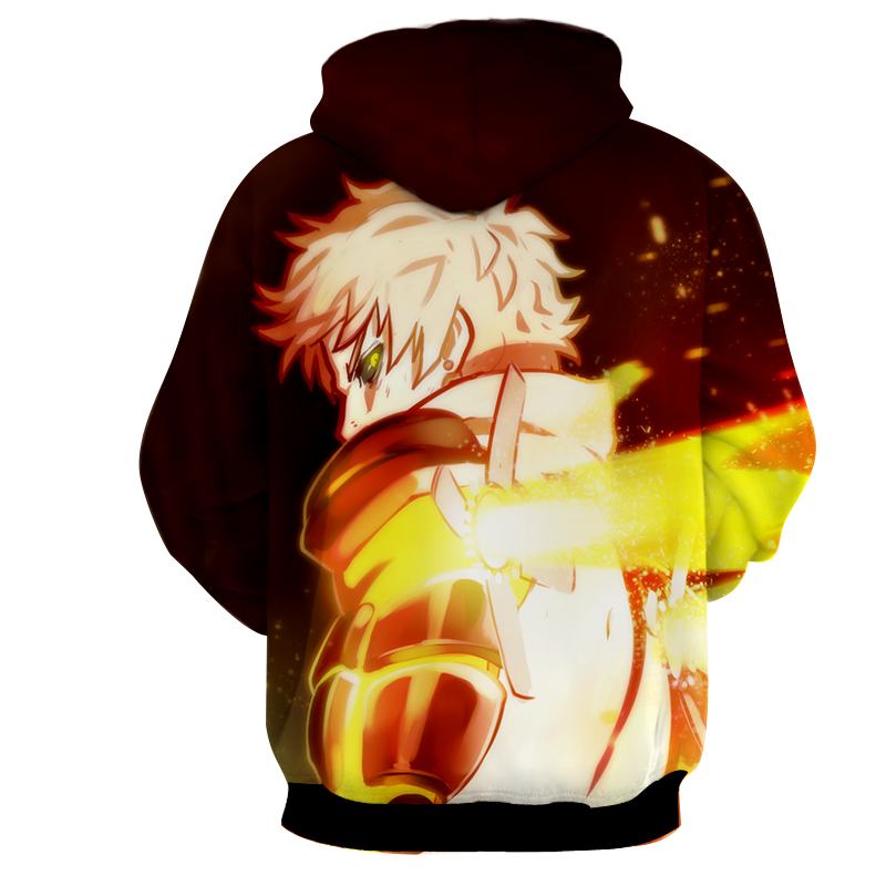 Hoodie One Punch Man Début dos