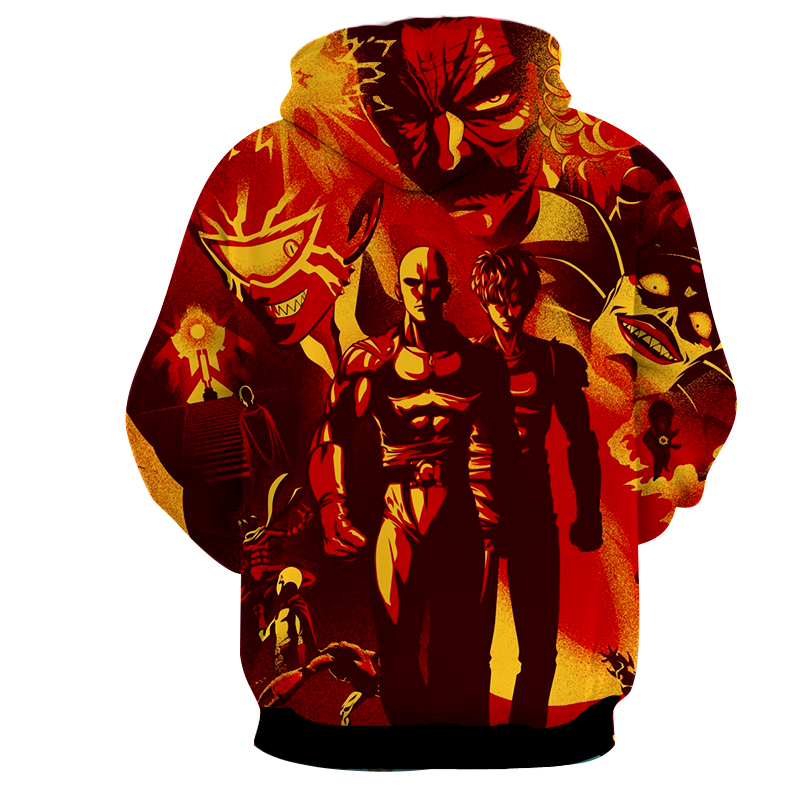 Hoodie One Punch Man Graffiti dos