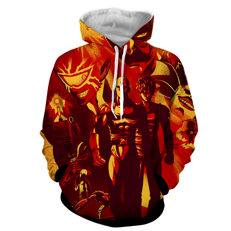 Hoodie One Punch Man Graffiti