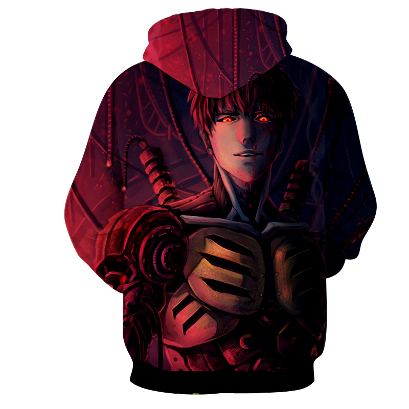 Hoodie One Punch Man Renaissance dos