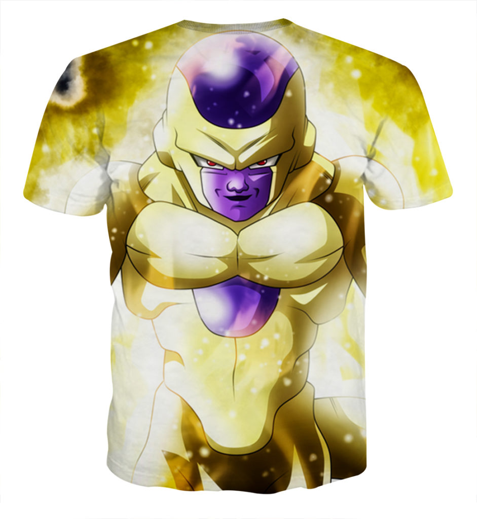 Tee shirt Dragon Ball Golden Freezer dos