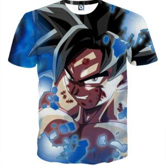 Tee shirt Dragon Ball San Goku sourire