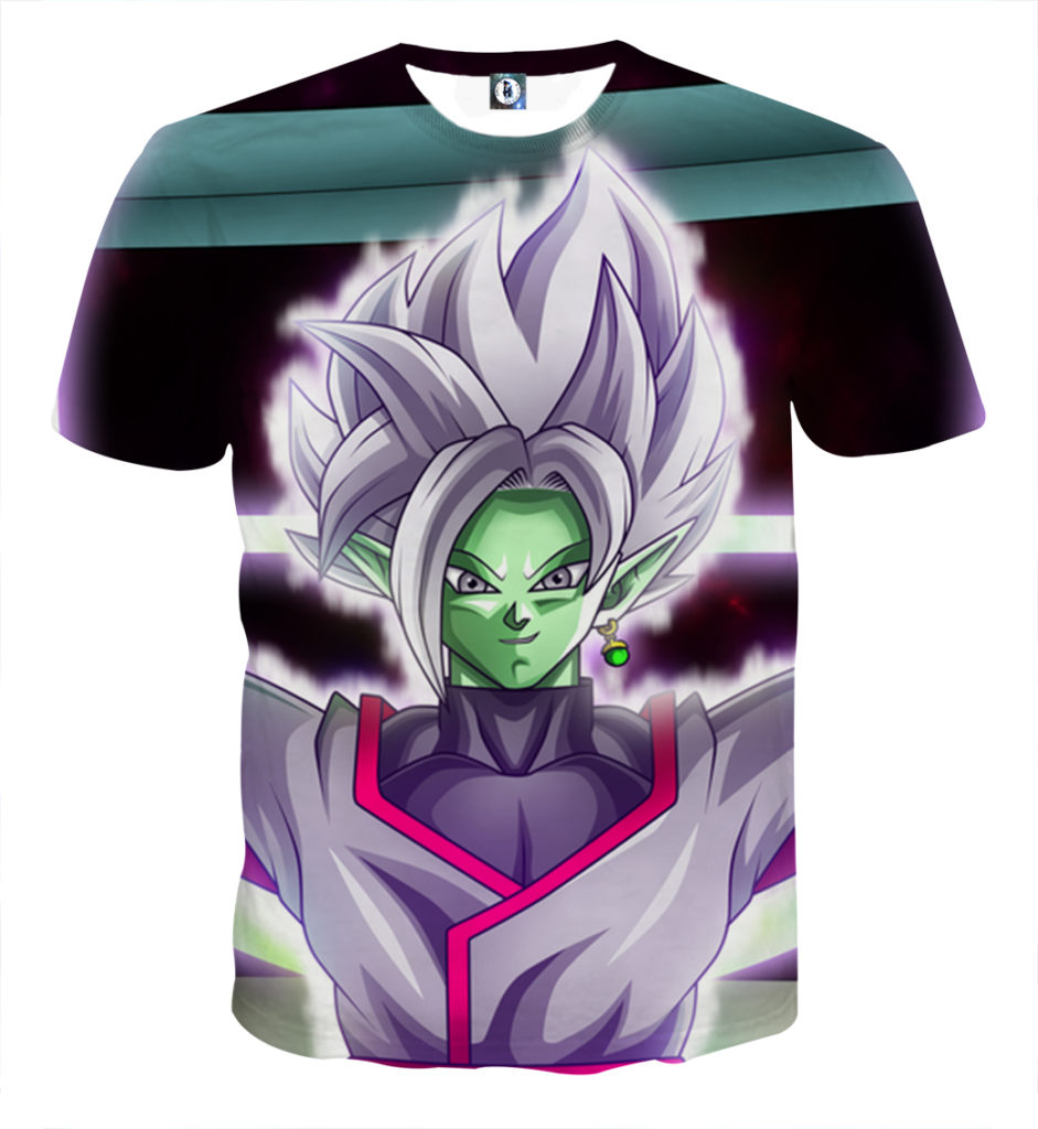 Tee shirt Dragon Ball San Goku special kaioken