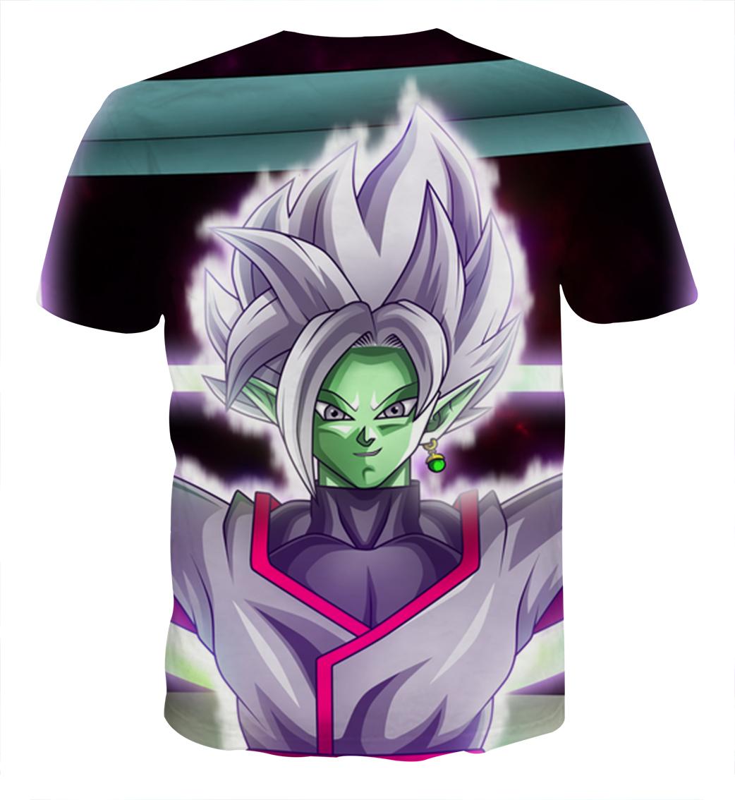 Tee shirt Dragon Ball San Goku special kaioken dos