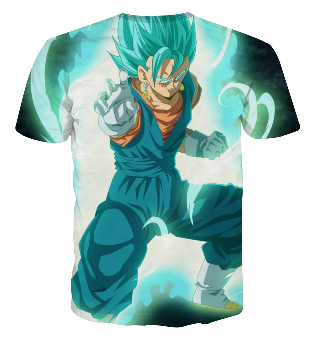 Tee shirt Dragon Ball San Goku God garde dos