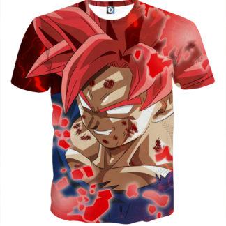 Tee shirt Dragon Ball San Goku Chaos