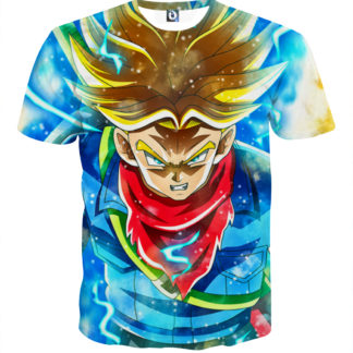 Tee shirt Dragon Ball Trunk adulte