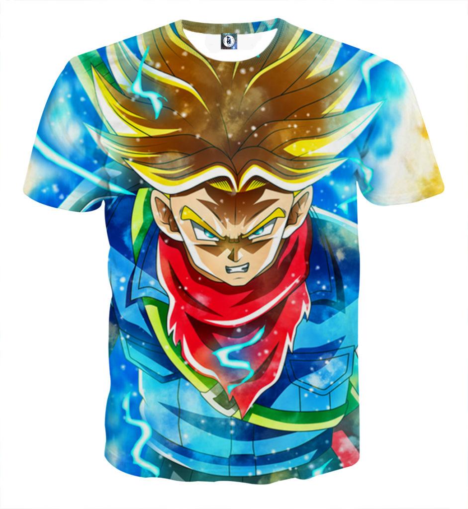 Tee shirt Dragon Ball Trunk adulte