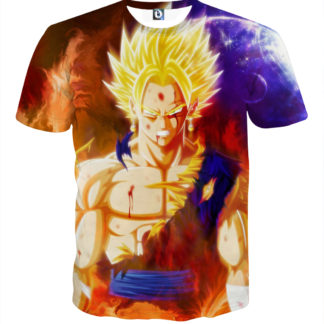 Tee shirt Dragon Ball Souffle de chaos