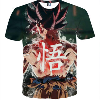Tee shirt Dragon Ball San Goku posture