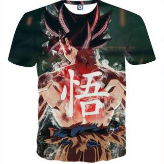 Tee shirt Dragon Ball San Goku posture