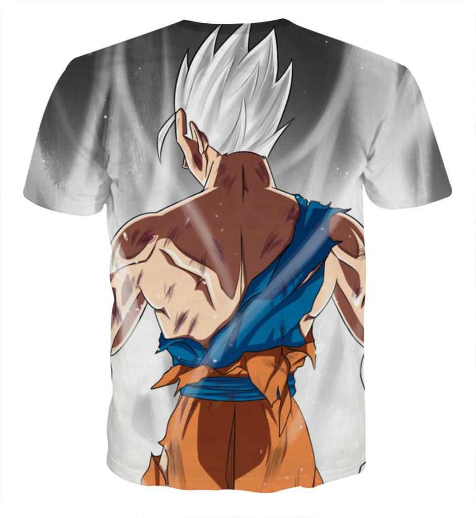 Tee shirt Dragon Ball San Gohan posture dos