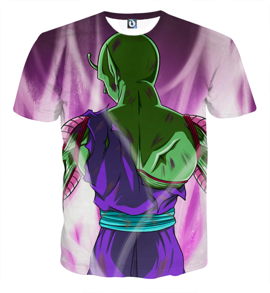 Tee shirt Dragon Ball Piccolo posture
