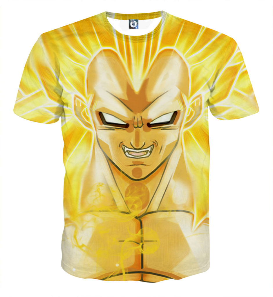 Tee shirt Dragon Ball Vegeta super saiyan 3