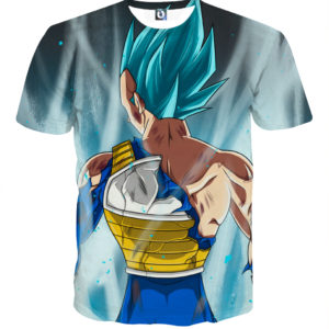 Tee shirt Dragon Ball Vegeta posture