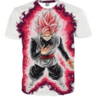Tee shirt Dragon Ball San Goku God Ki