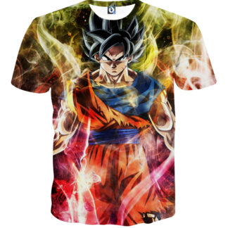 Tee shirt Dragon Ball San goku universe
