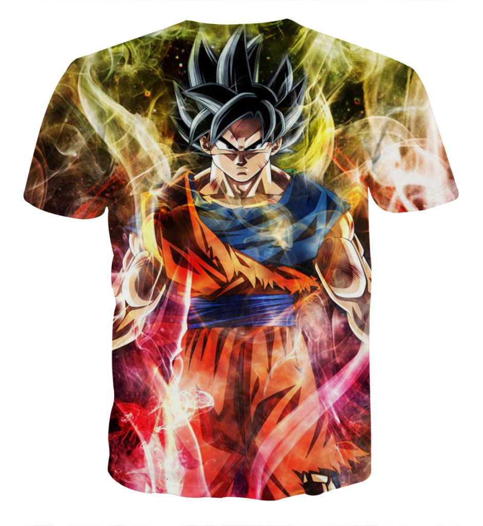 Tee shirt Dragon Ball San goku universe dos
