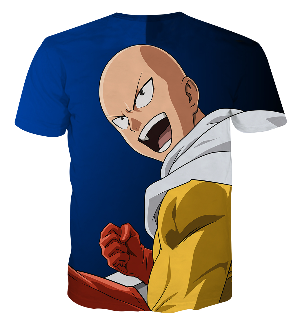 Tee shirt One Punch Man Nouvelle mission dos