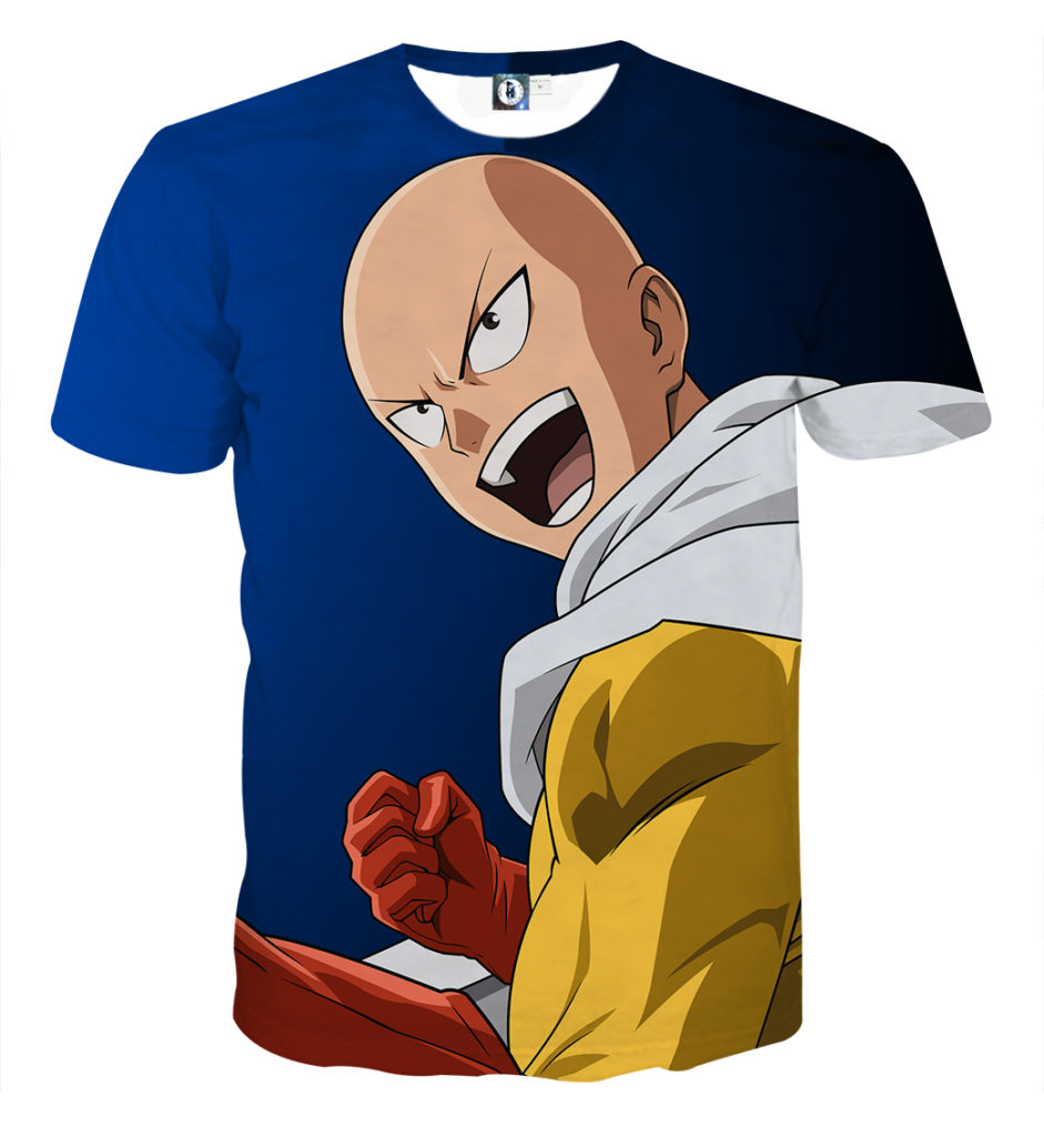 Tee shirt One Punch Man Nouvelle mission