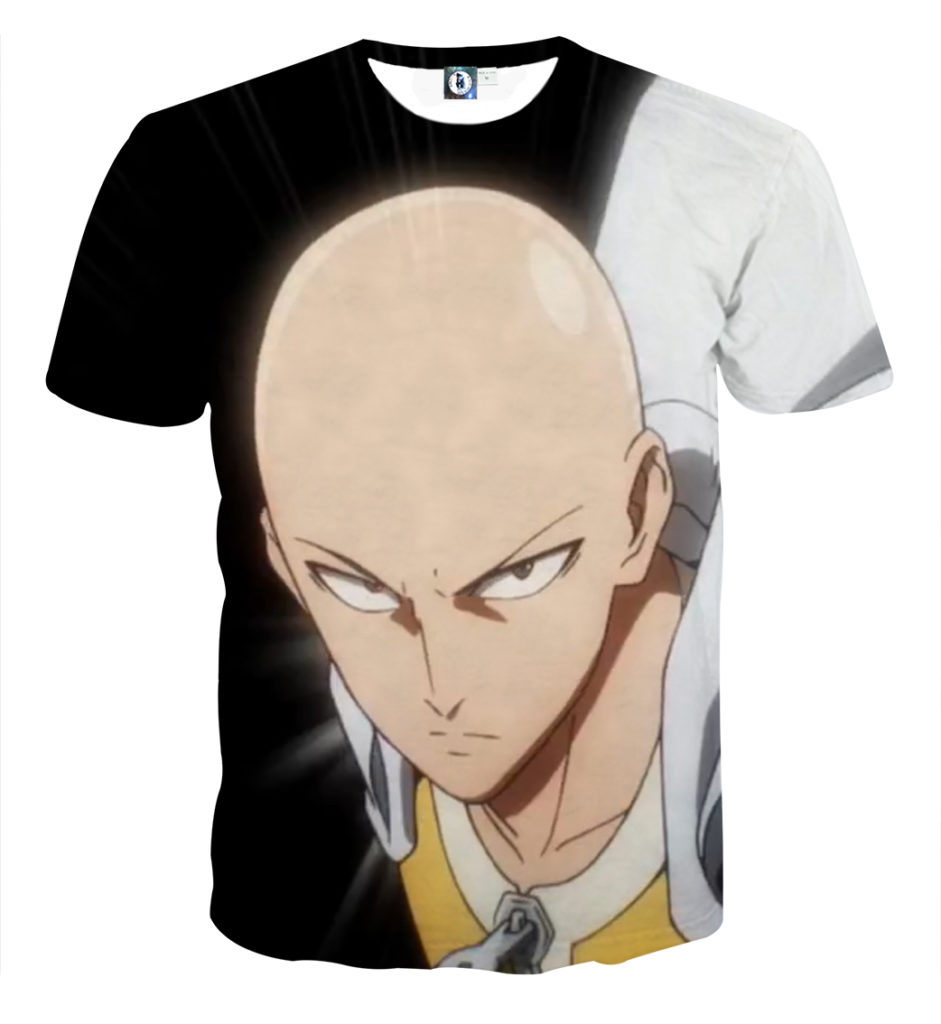 Tee shirt One Punch Man Saitama