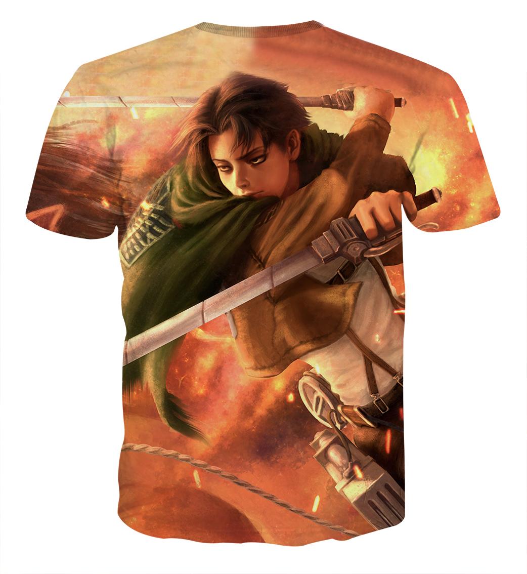 Tee shirt Attaque des titans Destin dos