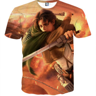 Tee shirt Attaque des titans Destin