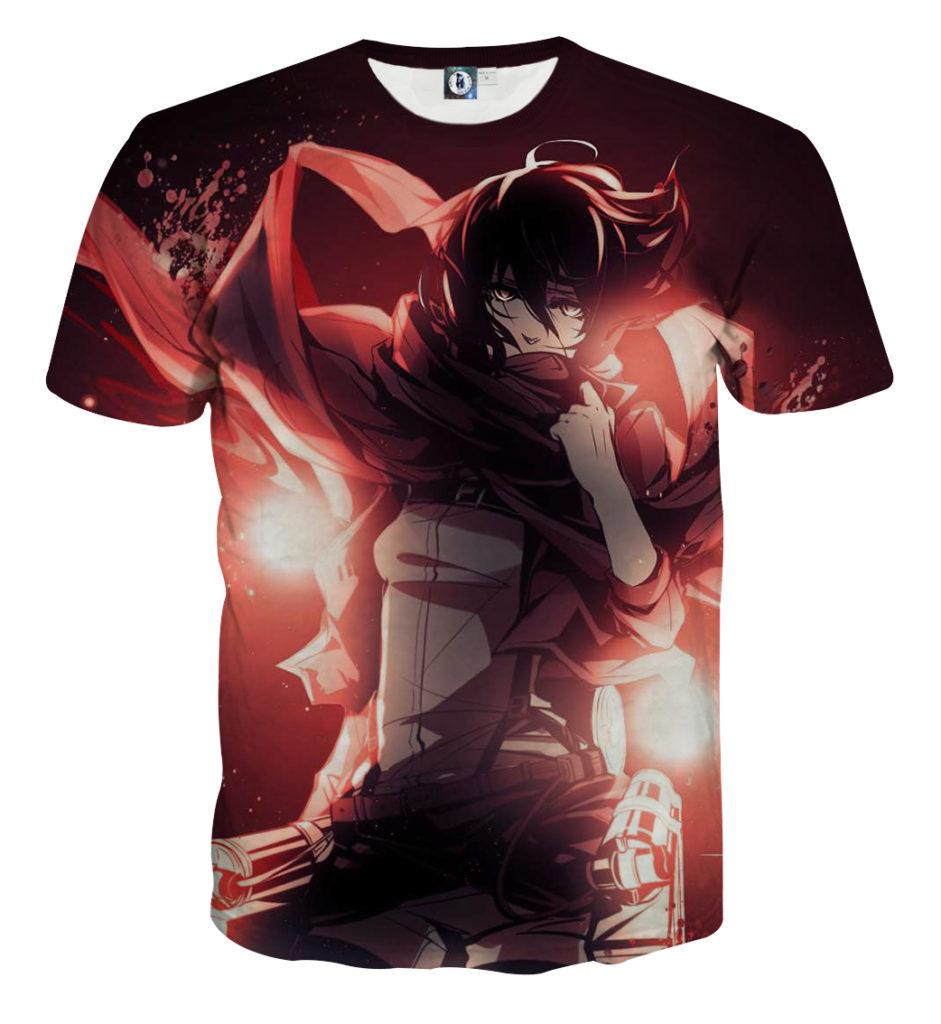 Tee shirt Attaque des titans envol 2
