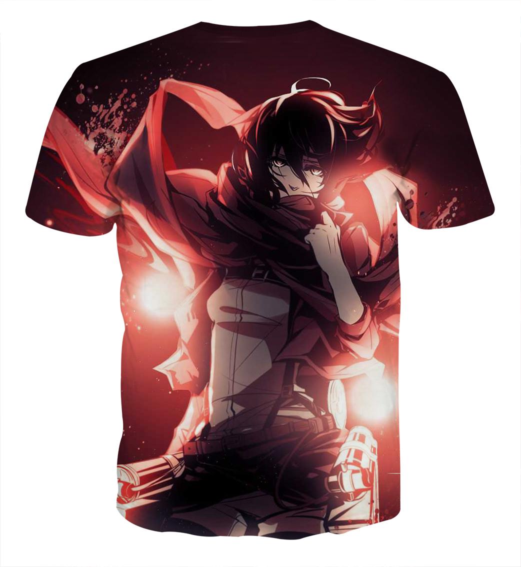 Tee shirt Attaque des titans envol 2 dos