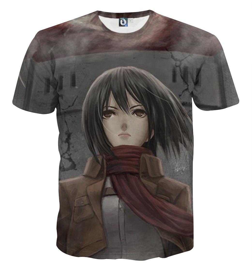 Tee shirt Attaque des titans Mikasa